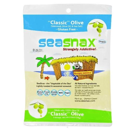 Seasnax Classic Olive Family 4 Pack (4x2.16 Oz)
