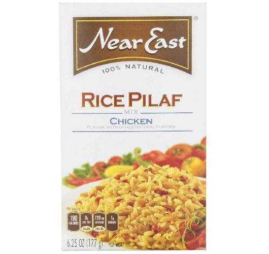 Near East Chicken Flavored Rice Pilaf (12x6.25 Oz)