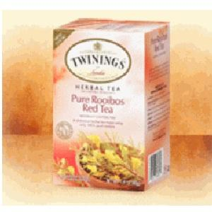 Twinings Pure Rooibos Red Tea (6x20 Bag)