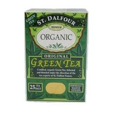 St. Dalfour Premium Organic Green Tea (6x25 Bag )