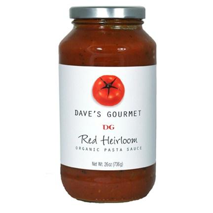 Dave's Gourmet Pasta Sauce Red Heirloom (6x25.5 Oz)