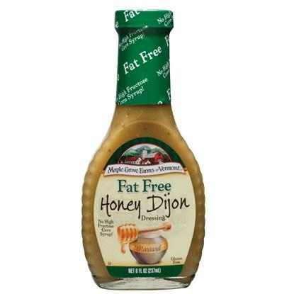 Maple Grove Fat Free Honey Dijon Salad Dressing (12x8 Oz)