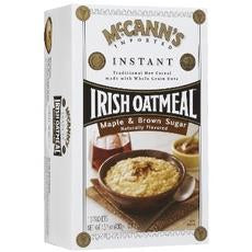 Mccann's Instant Irish Oatmeal Maple Brown Sugar (12x15.1oz)
