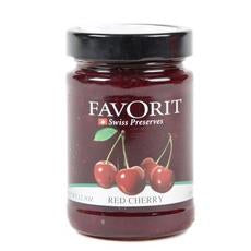 Favorit Swiss Red Cherry Preserves (6x12.3oz)