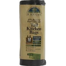 If You Care Tall Kitchen Bags With Handles (12x12 Ct)