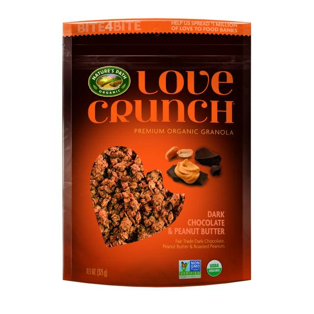 Nature's Path Love Crunch Dark Chocolate & Peanut Butter (6x11.5 Oz)