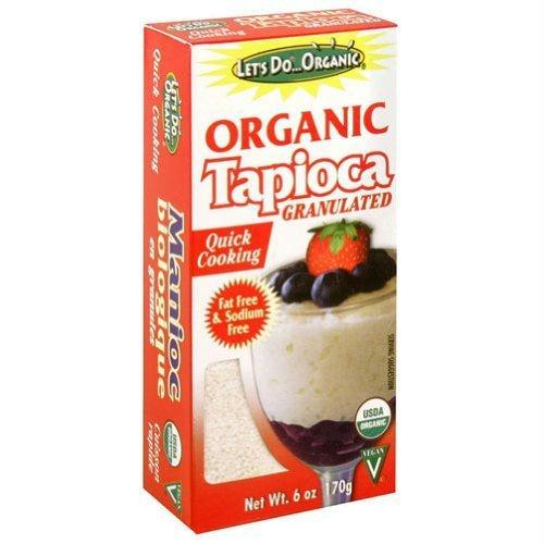 Edward & Sons Let's Do Organic Tapioca Granulated (6x6 Oz)
