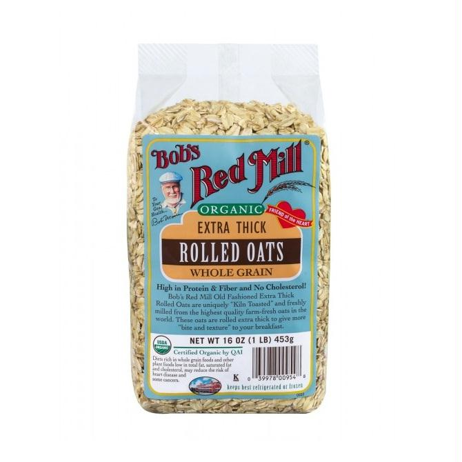 Bob's Red Mill Extra Thick Rolled Oats (4x16 Oz)