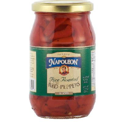 Napoleon Co. Red Peppers Sliced (12x12oz )