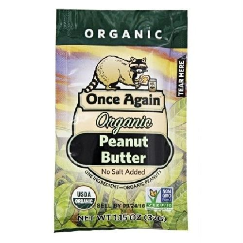 Once Again Organic Peanut Butter Creamy Squeeze (10x1.15 Oz)