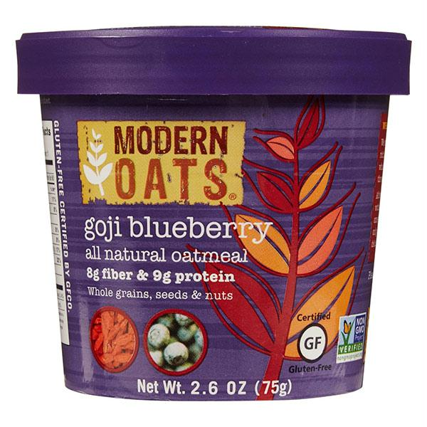 Modern Oats Goji Blueberry Oatmeal (6x2.6 Oz)