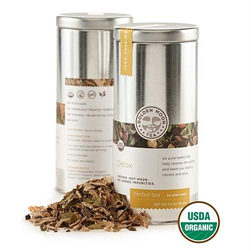 Golden Moon Detox Tea  (6x3 Oz)