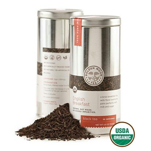 Golden Moon English Breakfast Tea (6x2.5 Oz)