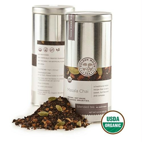 Golden Moon Masala Chai Tea (6x3.5 Oz)