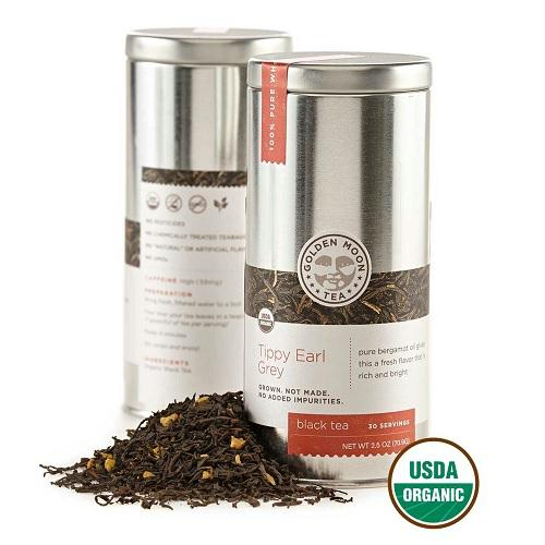 Golden Moon Tippy Earl Grey Tea (6x2.5 Oz)