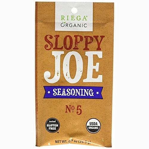 Riega Foods Gluten Free Sloppy Joe Seasning (8x0.9 Oz)