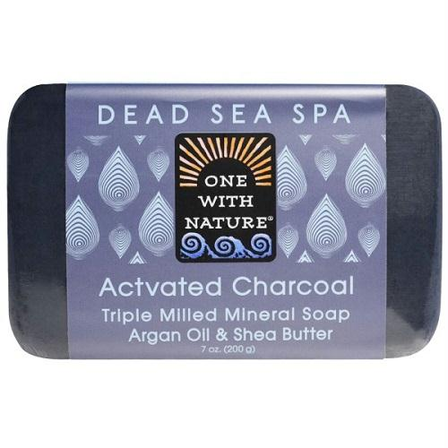 One With Nature O.w.n. Triple Milled Mineral Soap, Actvated Charcoal (6x7 Oz)