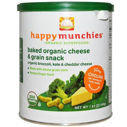 Happy Baby Broccoli, Kale And Cheddar Cheese Munchies (6x1.63 Oz)