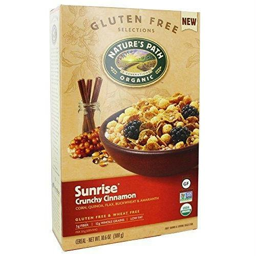Nature's Path Sunrise Crunchy Cinnamon Cereal (12x10.6 Oz)