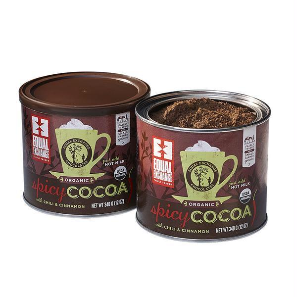 Equal Exchange Spicy Hot Cocoa Mix   (6x12 Oz)