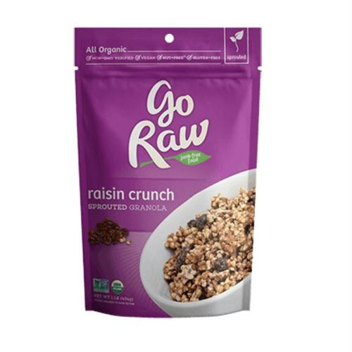 Go Raw Live Raisin Crunch Granola (6x16 Oz)
