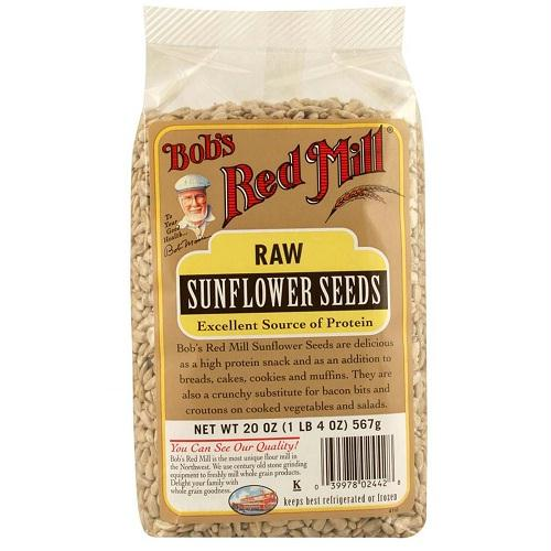 Bob's Red Mill Natural Raw Sunflower Seeds (4x20 Oz)