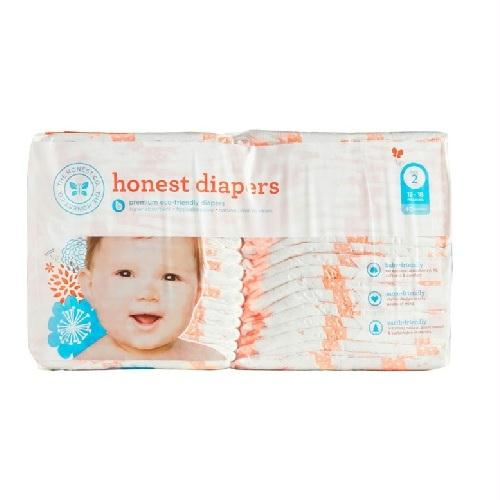 The Honest Company Diapers Giraffes Size 2 (1x40 Ct)