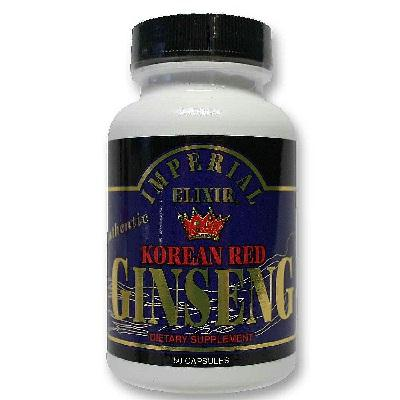 Imperial Elixir Korean Red Ginseng (1x50cap )