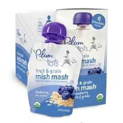 Plum Organics Mm Bluberry Oat (6x3.17oz )