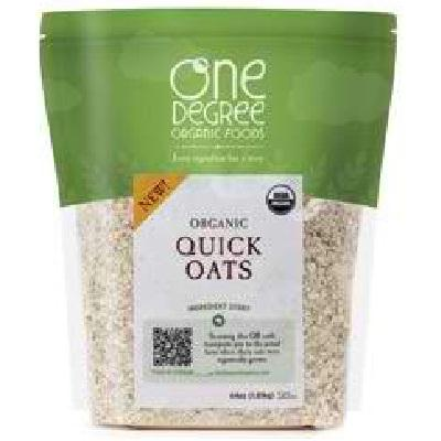 One Degree Organic Foods Quick Oats (4x48oz )