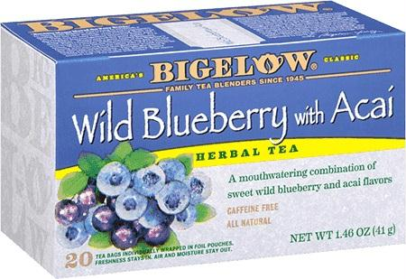 Bigelow Bluberry Acai Tea (6x20bag )