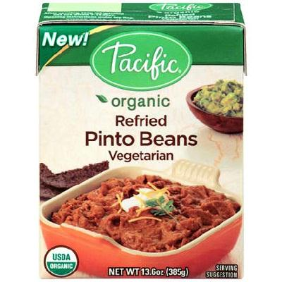 Pacific Natural Foods Refried Pntobean (12x13.6oz )