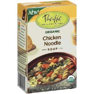 Pacific Natural Foods Chicken Ndle Sp Rs (12x17oz )