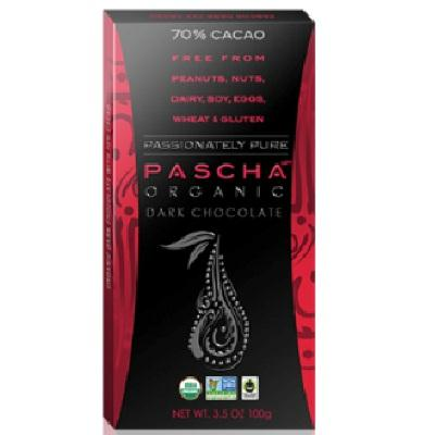 Pascha Dark Chocolate 70% (10x3.5oz )