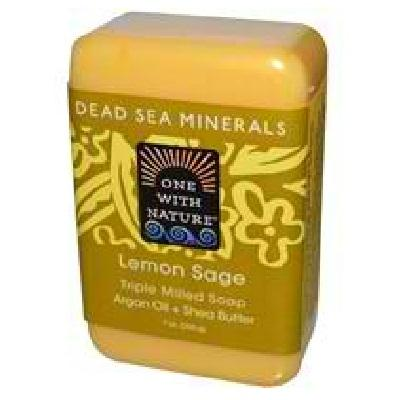 One With Nature Lem Sage Bar Soap (1x7oz )