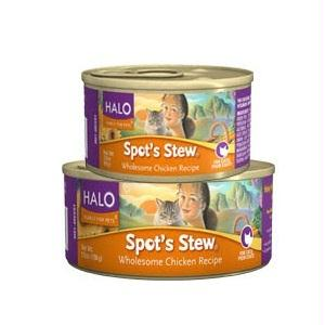 Halo Chicken Wet Cat Food (12x5.5oz )