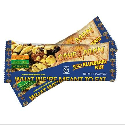 Caveman Bar, Wild Blueberry Nut (15x1.4 Oz)