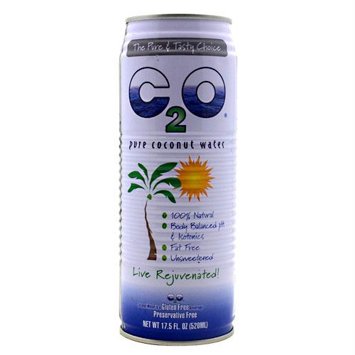 C2o Pure Coconut Water Unsweetened (24x10.5oz )