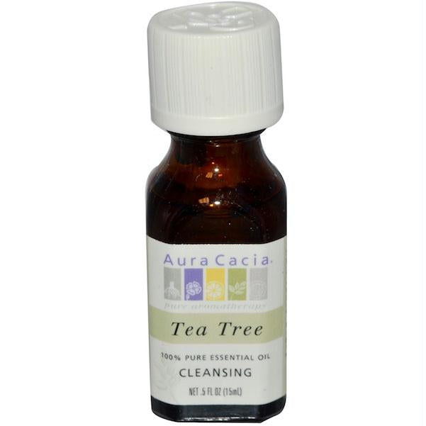 Aura Cacia Essence Oil Tea Tree (3x0.5oz )