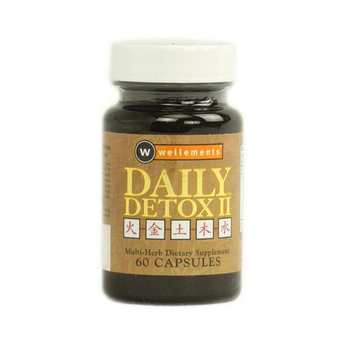 Wellements Daily Detox Ii Multi Herb (60 Capsules)