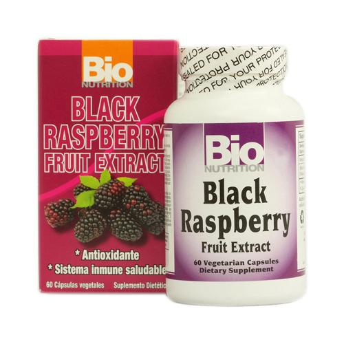 Bio Nutrition Black Raspberry Fruit Extract (60 Veg Capsules)