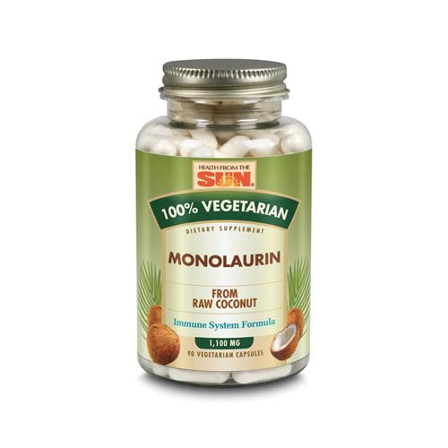 Health From The Sun Monolaurin 100% Vegetarian (90 Vcaps)