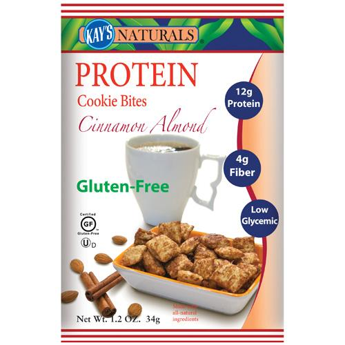Kay's Naturals Protein Cookie Bites Cinnamon (6 Pack) 1.2 Oz