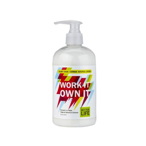 Better Life Work It Own It Lotion Sage (12 Fl Oz)