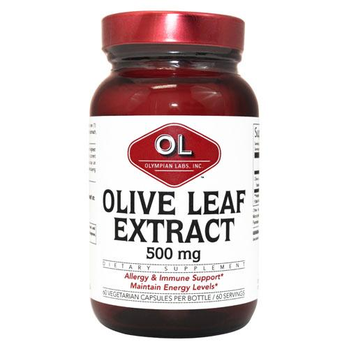 Olympian Labs Olive Leaf Extract 500 Mg (60 Capsules)