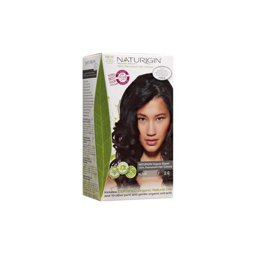 Naturigin Hair Colour Permanent Black (1 Count)