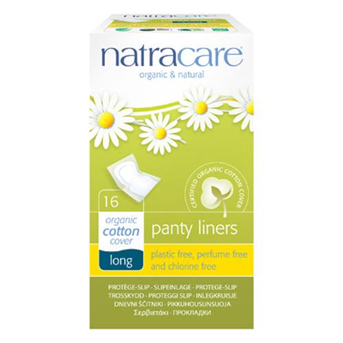 Natracare Panty Liner Long Wrapped (1x16 Count)
