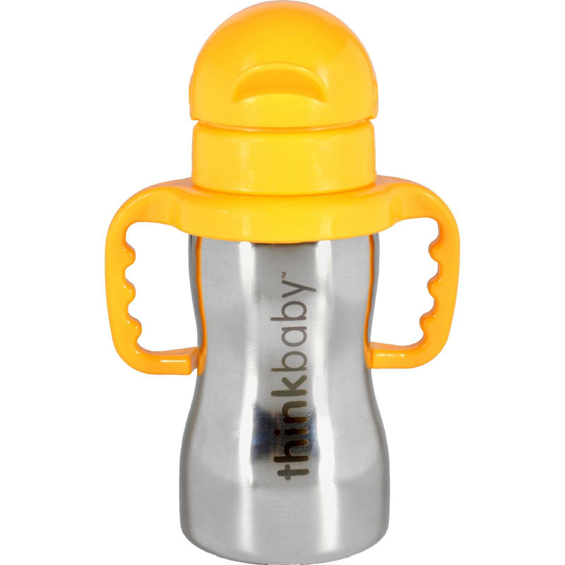 Thinkbaby Bottle  Thinkster  Of Steel  With Cover And Spout  9 Oz