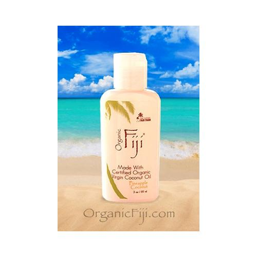Organic Fiji Coconut Lotion Pineapple 3 Oz