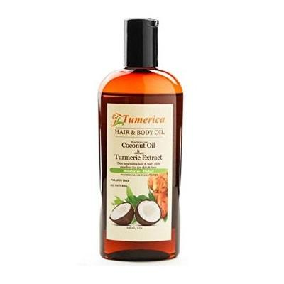 Tumerica Hair And Body Oil  Coconut  Turmeric  8 Oz